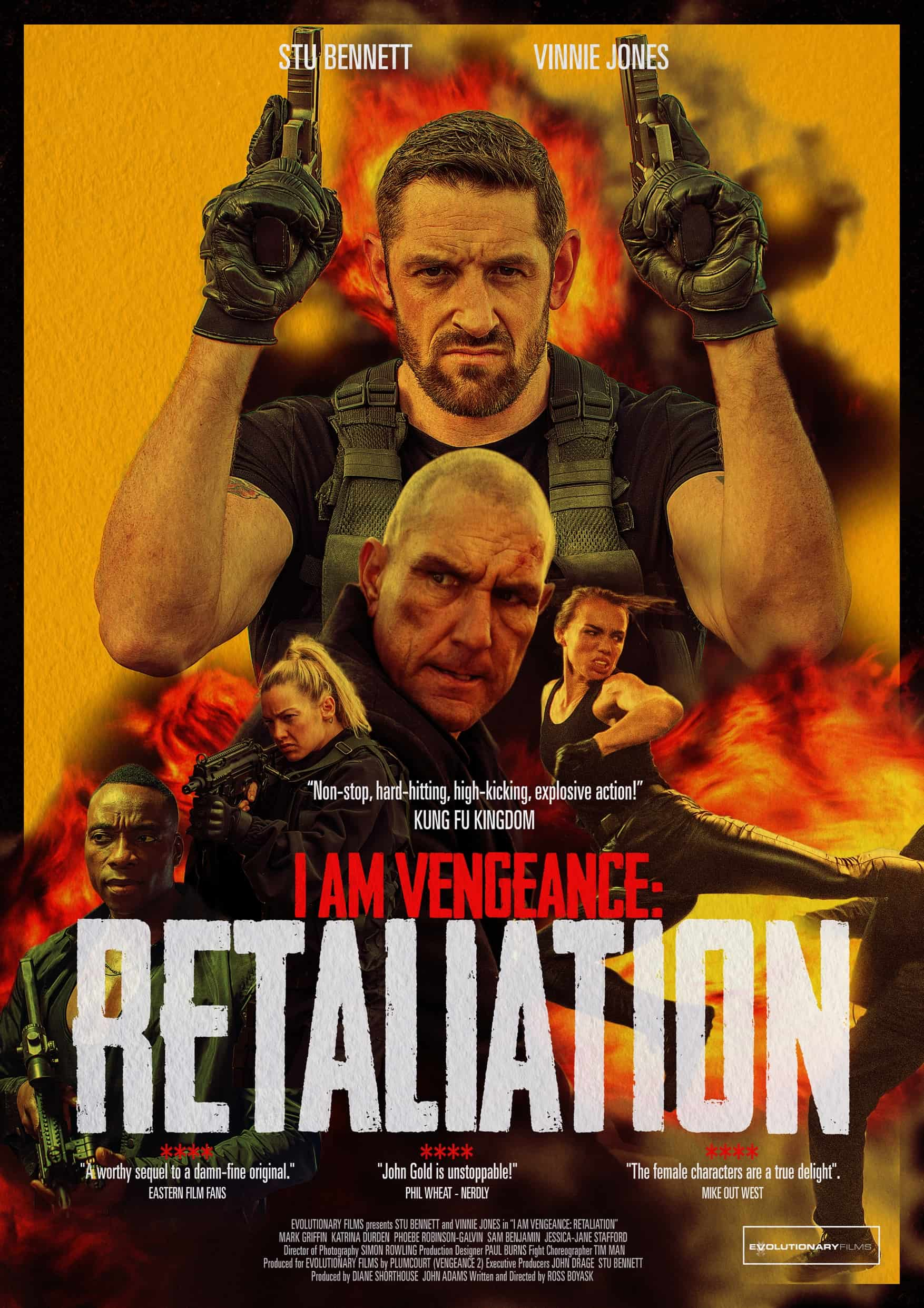 I AM VENGEANCE : RETALIATION